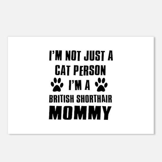 British Short-hair Cat Design Postcards (Package o