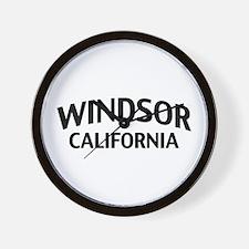 Windsor California Wall Clock