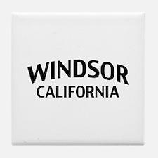 Windsor California Tile Coaster