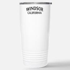 Windsor California Travel Mug