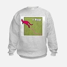 I Hop (Kangaroo) Sweatshirt