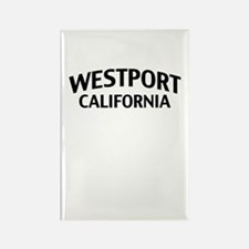 Westport California Rectangle Magnet
