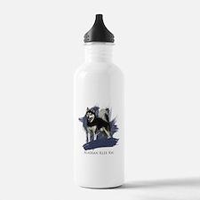 Unique Alaskan klee kai Water Bottle