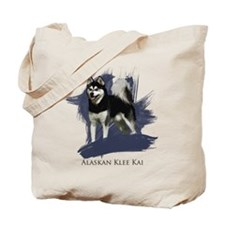 Cute Husky Tote Bag