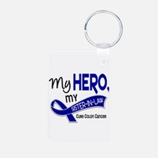 My Hero Colon Cancer Keychains