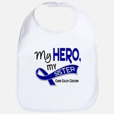 My Hero Colon Cancer Bib