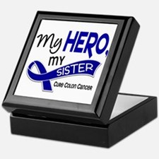 My Hero Colon Cancer Keepsake Box