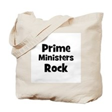 PRIME MINISTERS  Rock Tote Bag