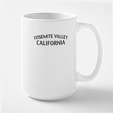 Yosemite Valley California Large Mug
