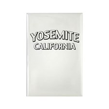 Yosemite California Rectangle Magnet