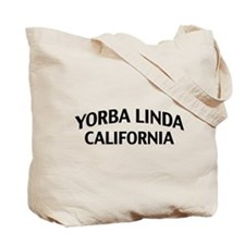 Yorba Linda California Tote Bag