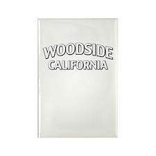 Woodside California Rectangle Magnet