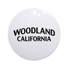 Woodland California Ornament (Round)