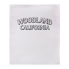 Woodland California Throw Blanket