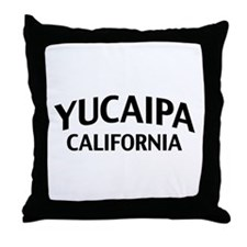 Yucaipa California Throw Pillow