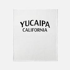 Yucaipa California Throw Blanket