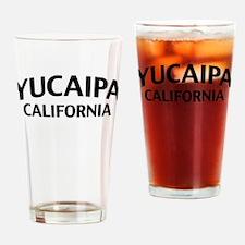 Yucaipa California Drinking Glass