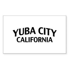Yuba City California Decal