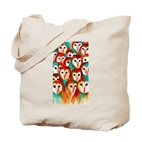 Crowded Owls ~ Tote Bag
