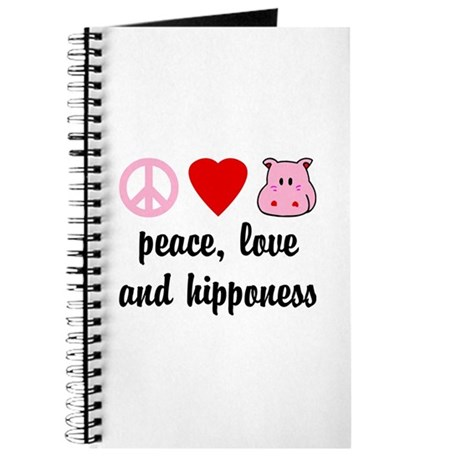 Peace Love and Hipponess Journal
