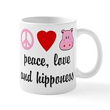 Peace Love and Hipponess Mug