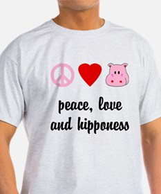 Peace Love and Hipponess T-Shirt
