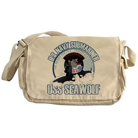Navy Submariner SSN-21 Messenger Bag