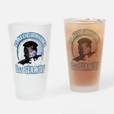 Navy Submariner SSN-21 Drinking Glass
