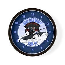 Navy Submariner SSN-21 Wall Clock