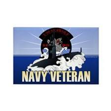 Navy Submariner SSN-21 Rectangle Magnet