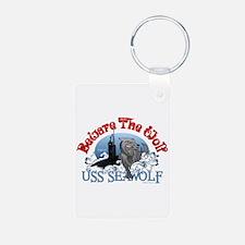 Beware The Wolf! USS Seawolf Keychains