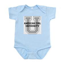 American Curl UNIVERSITY Infant Bodysuit