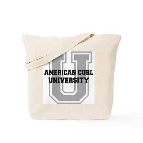 American Curl UNIVERSITY Tote Bag