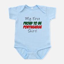 First Proud Portuguese Infant Bodysuit