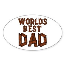Worlds Best Dad Decal