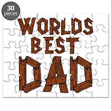 Worlds Best Dad Puzzle