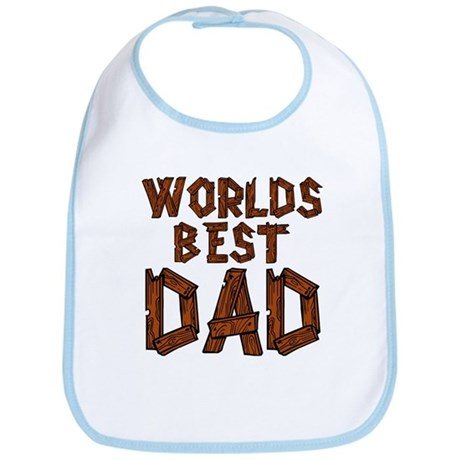 Worlds Best Dad Bib
