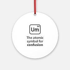 Symbol for Confusion Ornament (Round)