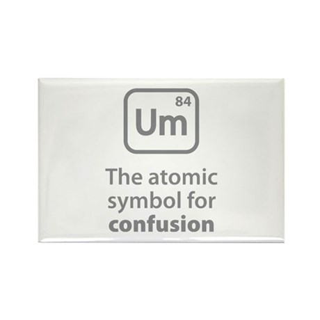 Symbol for Confusion Rectangle Magnet