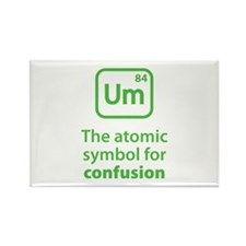 Symbol for Confusion Rectangle Magnet (10 pack)
