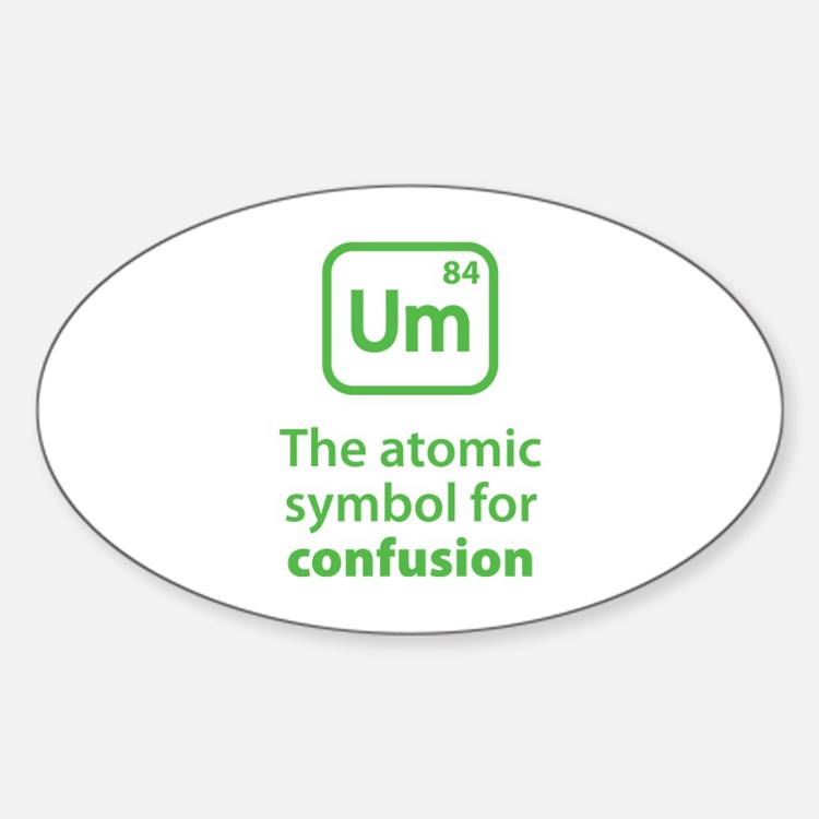 Symbol for Confusion Decal