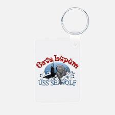 Cave Lupum - USS Seawolf Keychains