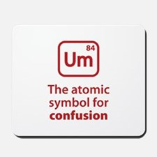 Symbol for Confusion Mousepad