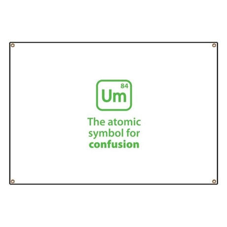 Symbol for Confusion Banner