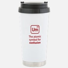 Symbol for Confusion Stainless Steel Travel Mug