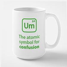 Symbol for Confusion Ceramic Mugs