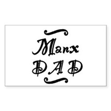 Manx DAD Decal