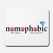 Nomophobic Mousepad