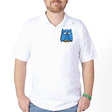 Aqua Owl T-Shirt