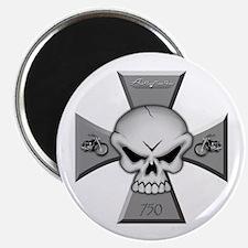 Maltese Skull Magnet